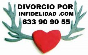 Hombre o mujer infiel y matrimonio que termina por separación o divorcio por infidelidad